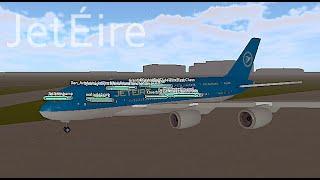 ROBLOX | JetÉire A380 Flight