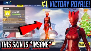 "UNLOCKING THE RED ""LYNX"" SKIN in Fortnite: Battle Royale! Gameplay"