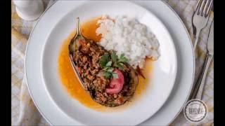 Bakłażany faszerowane mięsem Karniyarik