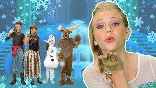 The Best Frozen Finger Family Song | FunPop!