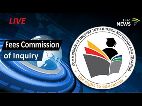 Commission of Inquiry, Higher Education and Fees: 11 August 2016
