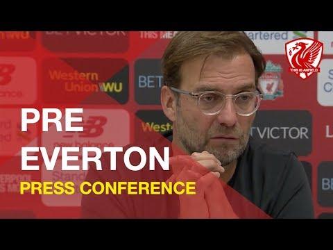 Liverpool Vs. Everton   Jurgen Klopp Press Conference