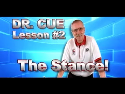 APA Dr. Cue Instruction - Pool Lesson 2: The Stance
