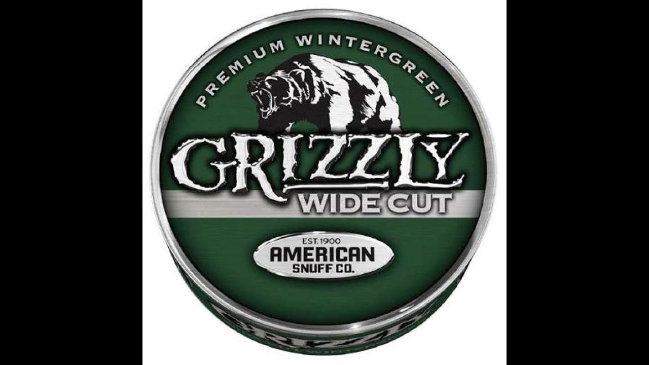 grizzly wide cut wg review dip tips youtube rh youtube com Grizzly Tobacco Bear Logo New Grizzly Tobacco