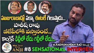 MLA Raghunandan Rao Most Sensational Interview | Real Talk With Anji Political #8 | Political Tree