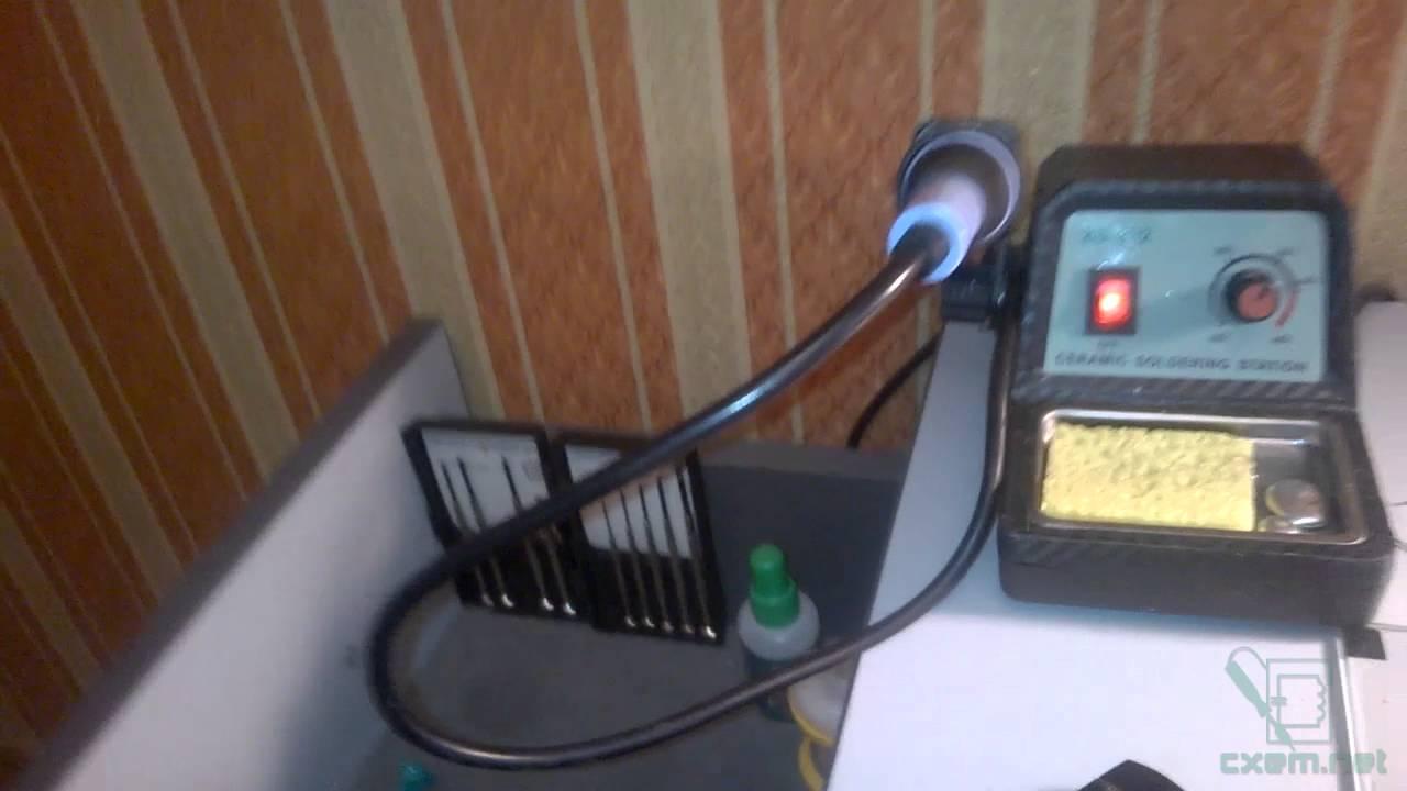 Простой термостат на компараторе