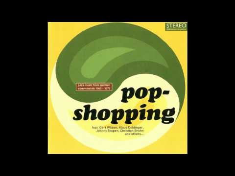 VA - POPSHOPPING - Juicy music from german commercials 60's - 70's vinyl