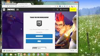 how to download fotnite on pc