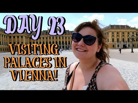 VISITING PALACES IN VIENNA | EUROPE TRAVEL VLOG | DAY 23