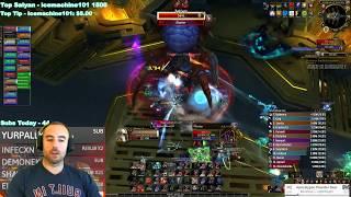 Bajheera - HEROIC ZEK'VOZ: ULDIR (374 iLvl Arms Warrior) - WoW 8.0 Battle for Azeroth