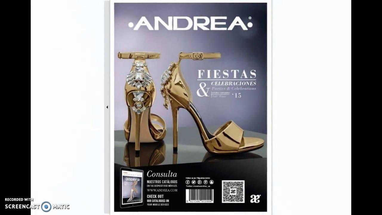 6da56bf658d Catálogo Andrea Fiestas y Celebraciones Primavera Verano 2016