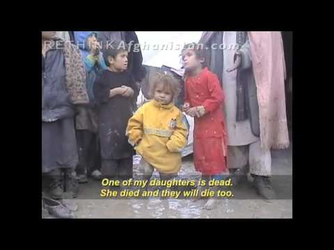 You won't see THIS on FOX: Afghan Children Left to Die After US Bombings (Clip 3)