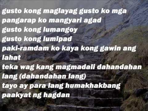 Ron Henley ft. Kat Agarrado - Hagdan (Lyrics Video)