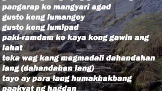 Repeat youtube video Ron Henley ft. Kat Agarrado - Hagdan (Lyrics Video)