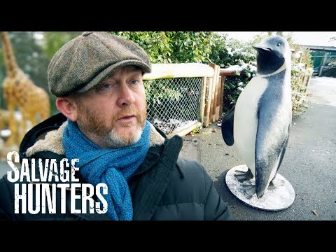 Drew Takes A Visit To Chester Zoo! | Salvage Hunters
