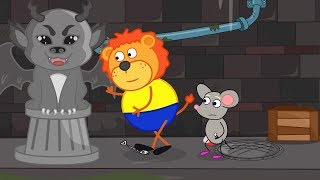 Lion Family Rat's Lair Dungeon Treasure Cartoon for Kids