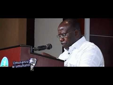 Kizito Mihigo - 2012 - Genocide commemoration musical event with government officials
