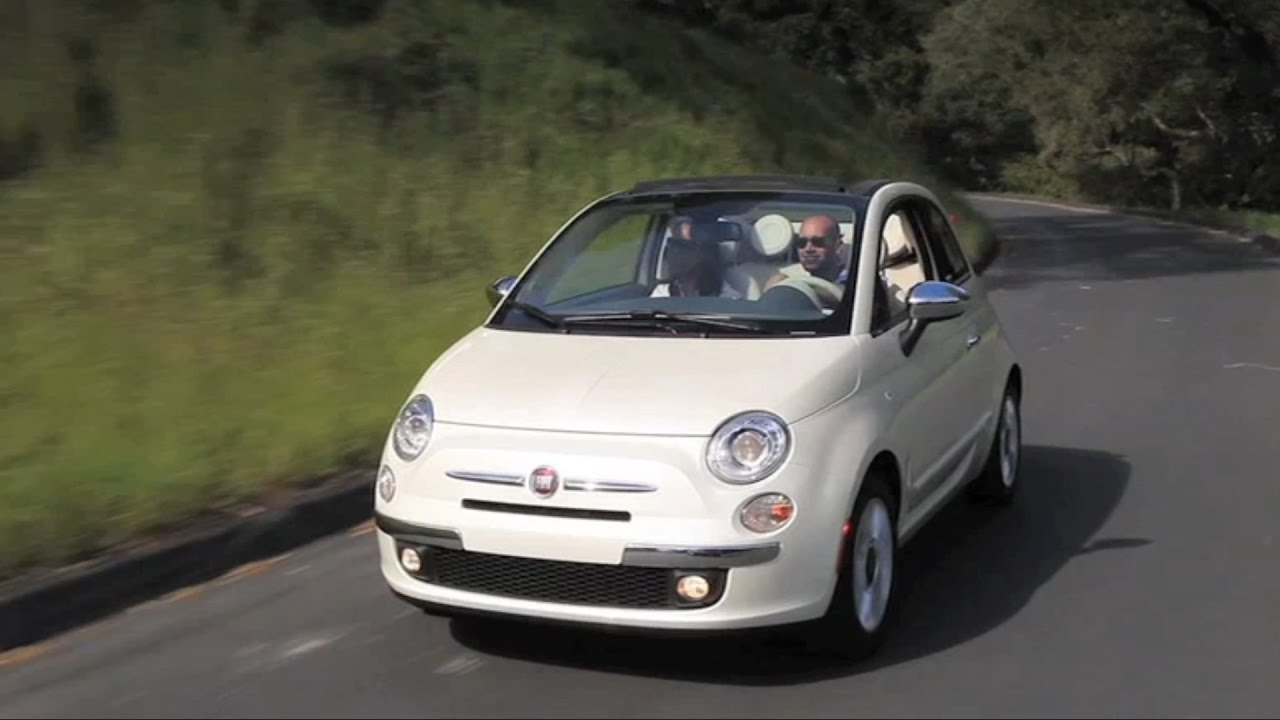 2017 Fiat 500 Cabrio Us Spec