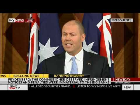 Press Conference - Banking Royal Commission Interim Report (28 September 2018)