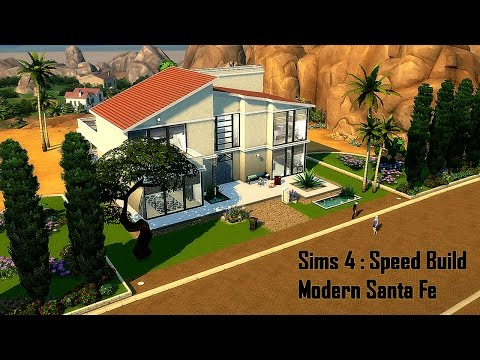 Sims 4 : Modern Santa Fe ❤ Speed Build ❤