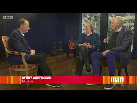 Benny Andersson and Tim Rice discuss Chess...
