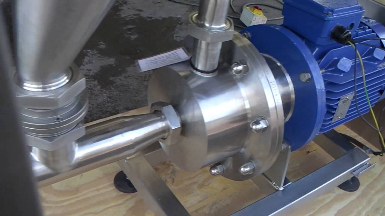 7 5kw 2 inch Silverson Inline High Shear Mixer - Stock Code: 6716