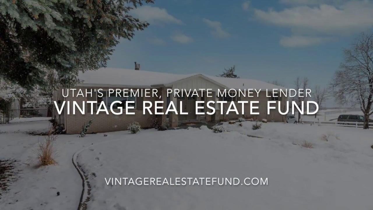 Vintage Real Estate Fund – Utah's leading hard money lender