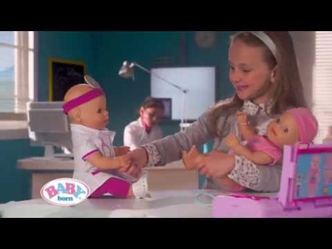 Smyths Toys Baby Born Doctor Doll Amp Accessories Youtube