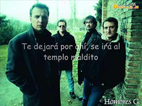 """INDIANA - Hombres G (CD """"La Cagaste Burt Lancaster"""") - x El_Cura - Letra"""