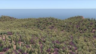 Build vegetation with Arnold Standins and Mash in Maya 2018
