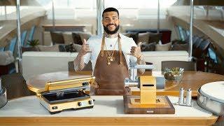 Эксклюзив BORK для Тимати: доставка техники с золотым покрытием на личную яхту