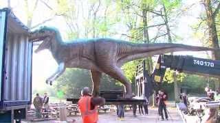 A Thoiry : les dinosaures prennent possession des lieux
