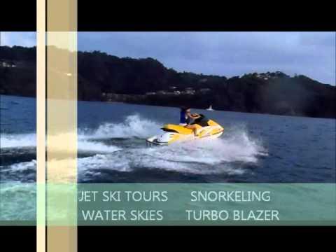 Jet Ski Tours Playa Herradura, Jaco, Costa Rica.wmv