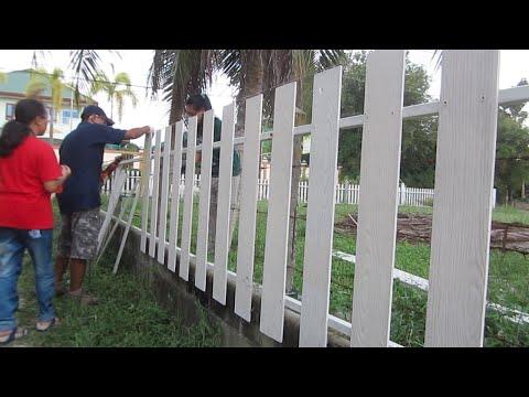 ทำรั้วแบบง่าย (2)   my DIY fence(2)