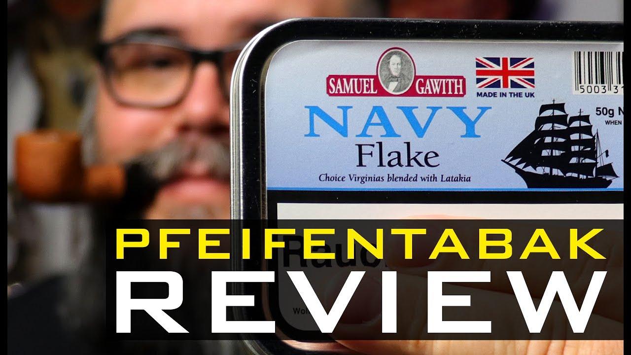 Pfeifentabak Review 🍂 - SAMUEL GAWITH - NAVY FLAKE (🇬🇧 Subtitles)