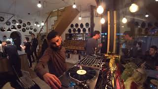 SUBB-AN [One Records, FUSE] : Instore Session @ Vinyl & Wood - Budapest 17.02.2018 (RTS.FM)