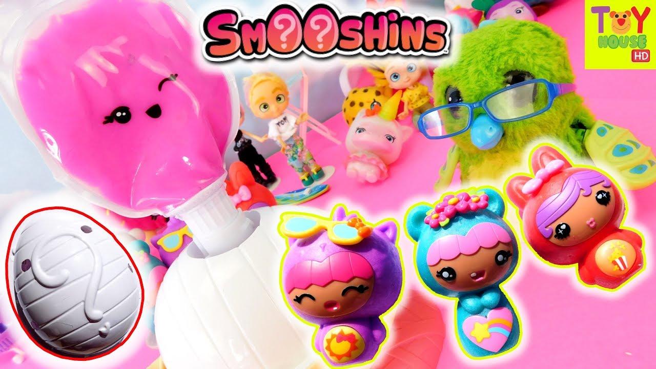 Squishy Making Kit : SMOOSHINS! New SQUISHY Surprise Maker from MGA ?? - YouTube