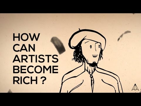 How Can Artists Become Rich?