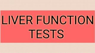 LIVER FUNCTION TESTS #CSIRGATEICMR #JNU #GPATNIPER