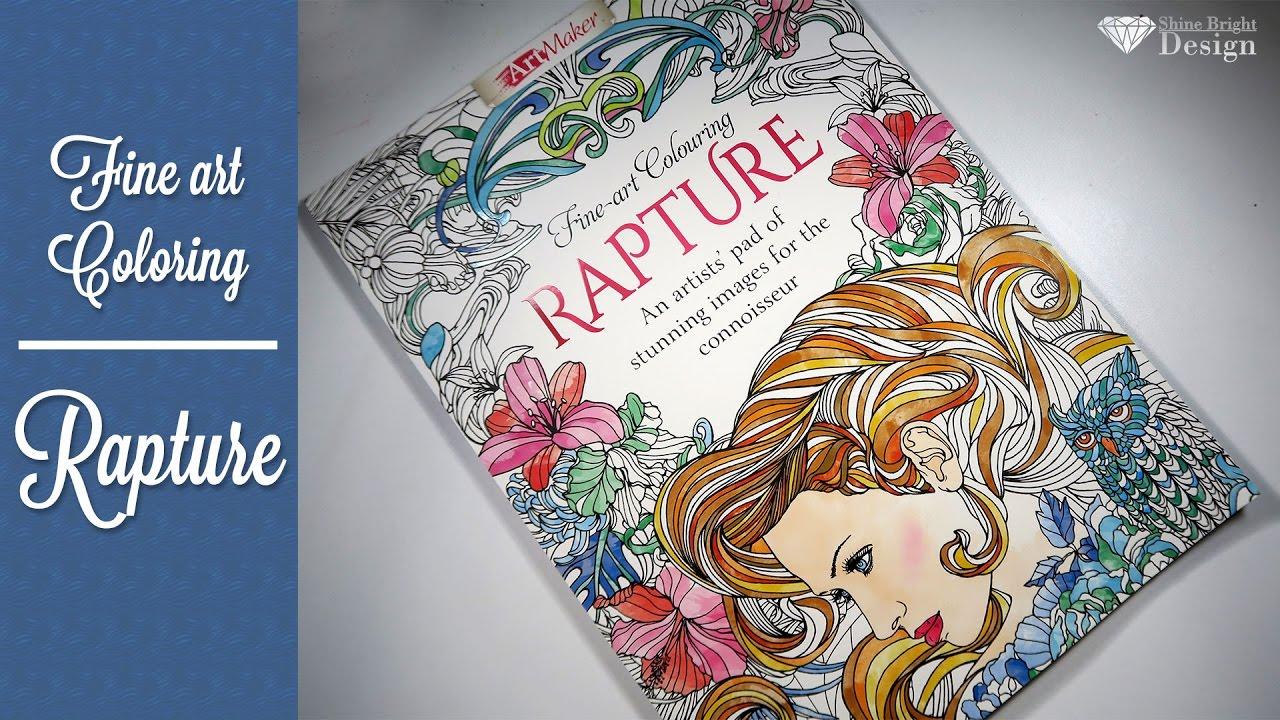 A Proper Flip Through: Fine Art Colouring Rapture by Hinkler Books ...