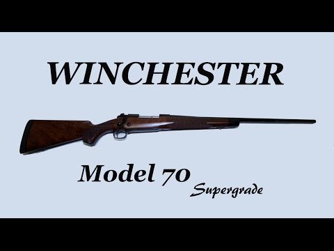 Winchester Model 70 Supergrade Up Close and Personal