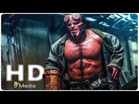 HELLBOY New First Look (2019) New Hellboy Reboot, David Harbour Superhero Movie HD