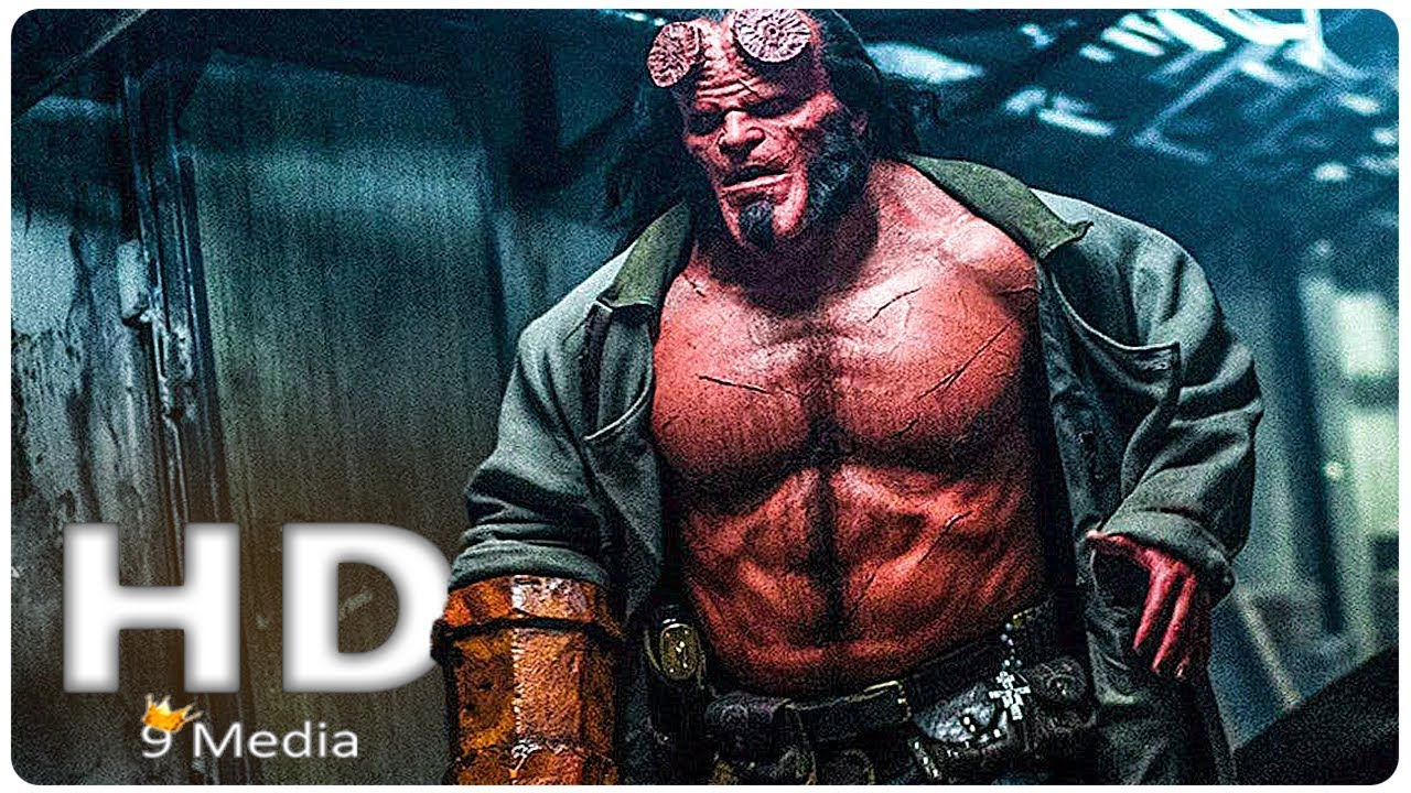 Movie Poster 2019: HELLBOY New First Look (2019) New Hellboy Reboot, David