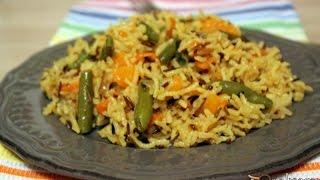 Рис Басмати мix и Quinoa Mix с овощами