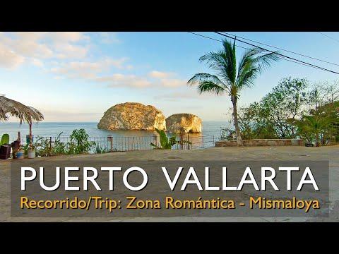 Puerto Vallarta Zona Romántica a Mismaloya [2.7K] Trip from Old Vallarta to Mismaloya (22/05/2018)