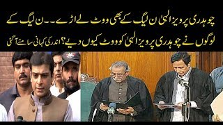 Parvez elahi gave a huge set back to PMLN in punjab assembly