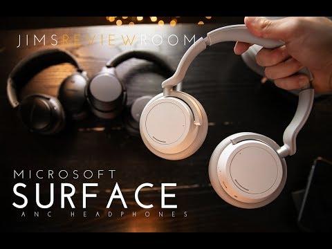 Microsoft Surface Headphone - REVIEW  (VS Bose QC35ii + Sony 1000xm3)  Listen!