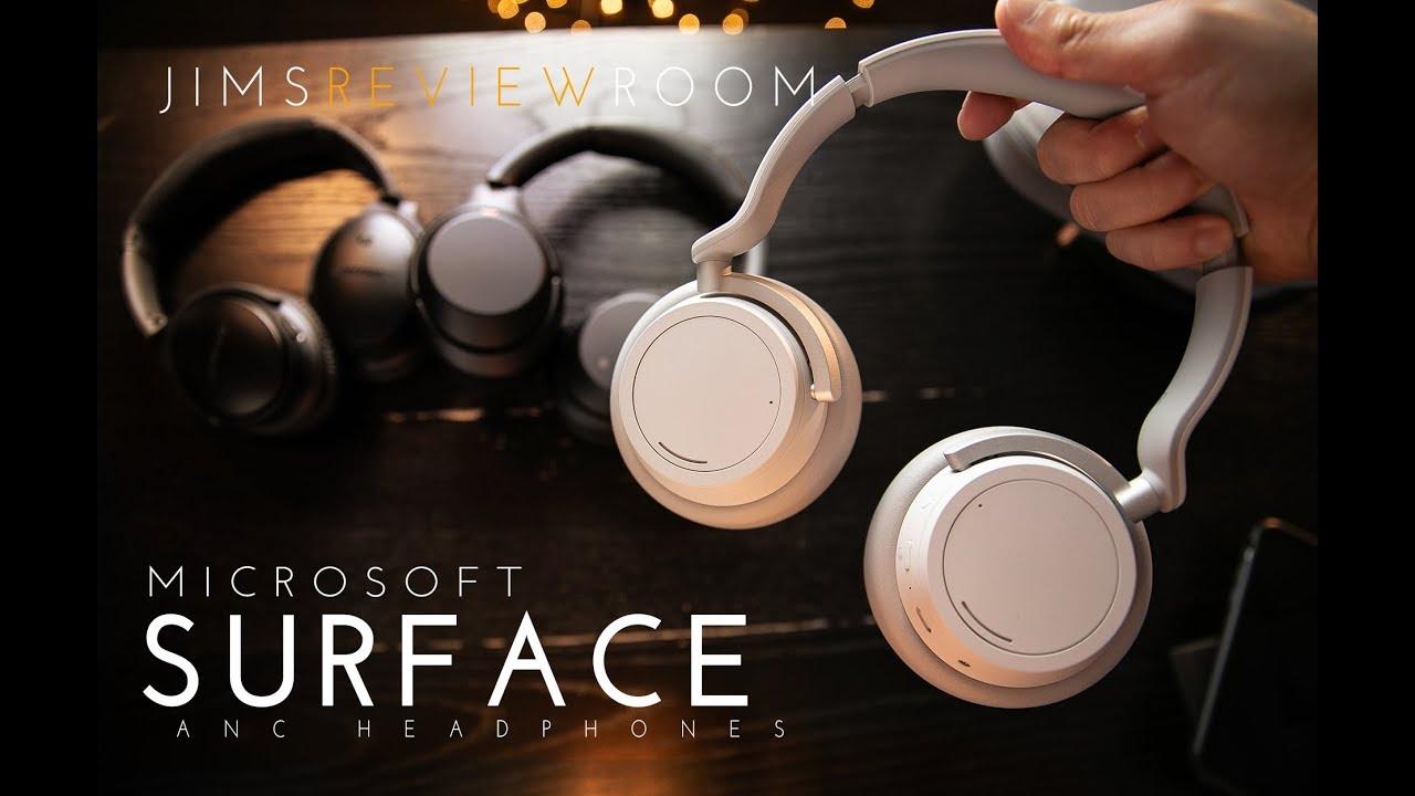 ec0bba7059d Microsoft Surface Headphone - REVIEW (VS Bose QC35ii + Sony 1000xm3) Listen!