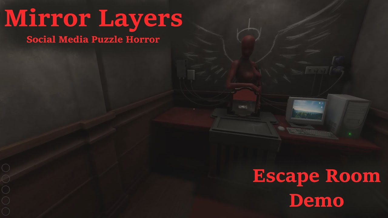 Download Mirror Layers - Social Media Puzzle Horror Game made by the creators of IMSCARED [Escape Room Demo]