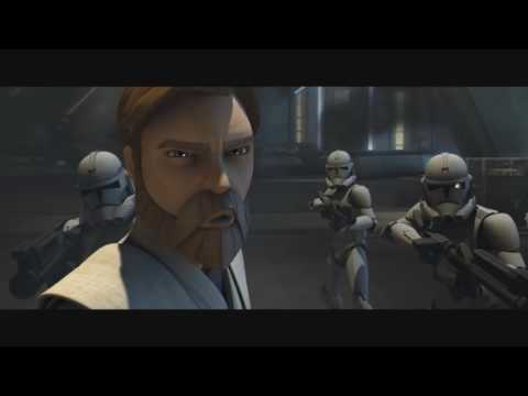The Clone Wars  - General Grevious Attacks Obi Wan's Fleet